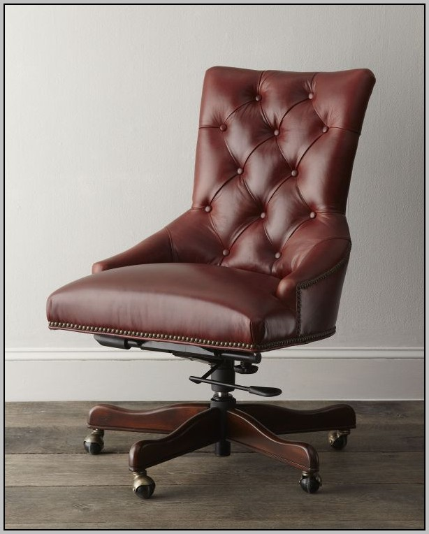 Armless Desk Chairs Leather