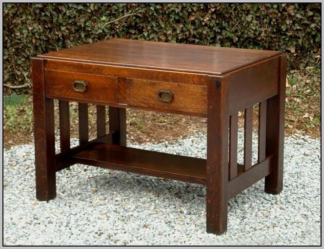 Arts And Crafts Desk Antique