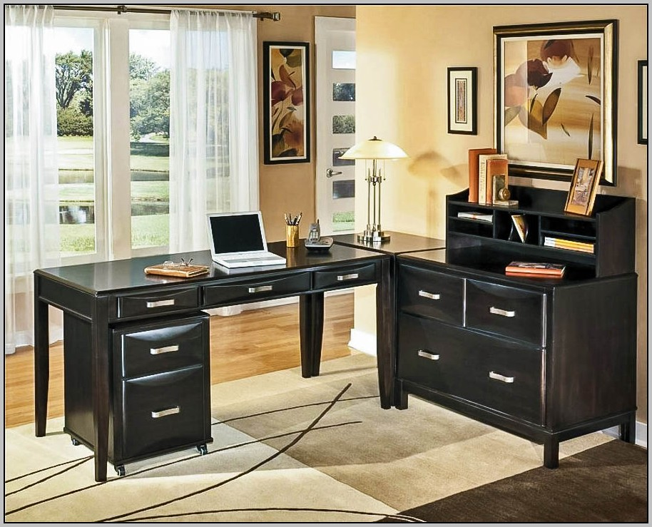Ashley Furniture Desk Black