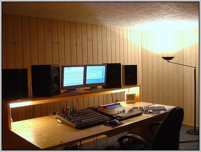 Audio Workstation Desk Diy