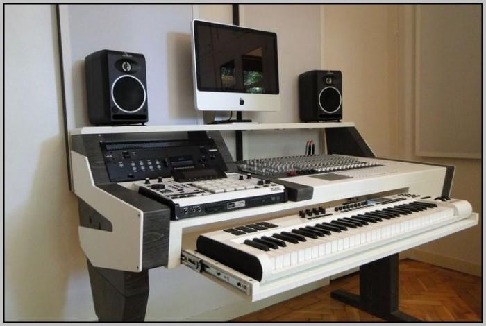 Audio Workstation Desk Plans