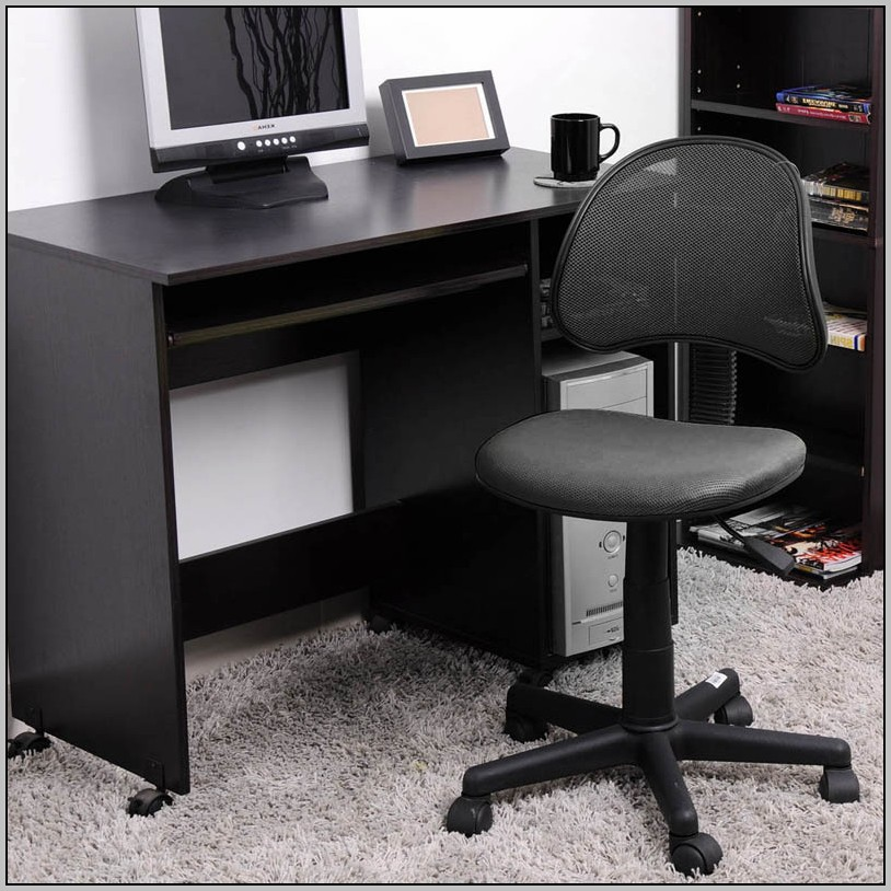 Black Office Chair Without Arms