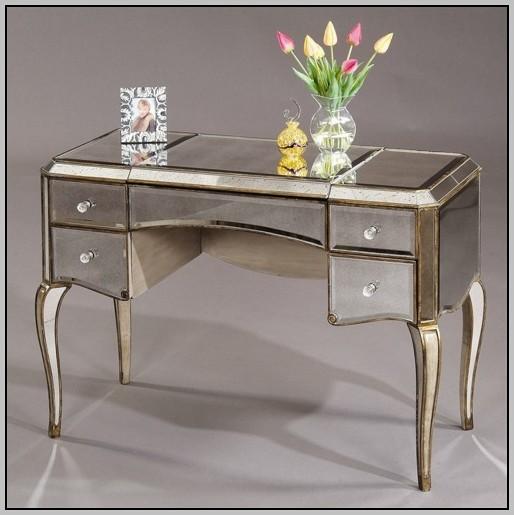 Comfort Market Mirrored Writing Desk