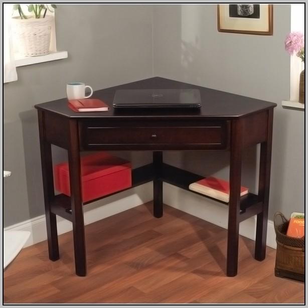Compact Office Desk Espresso