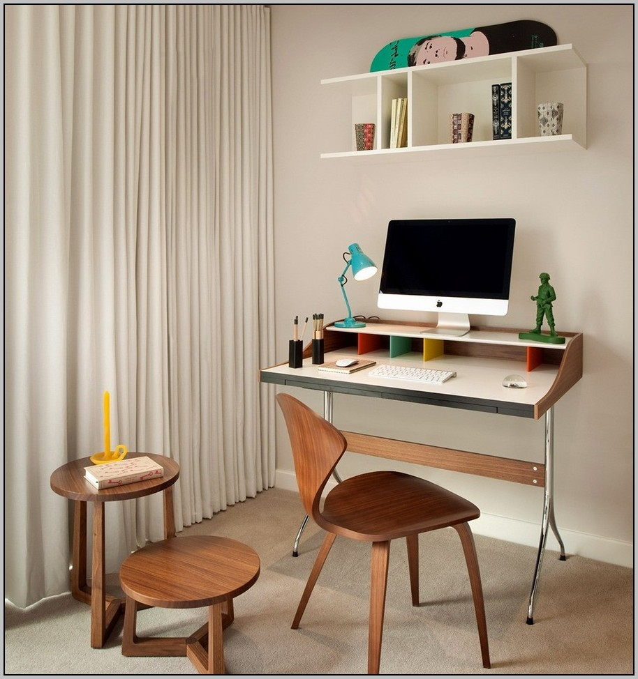 Compact Office Desk Modern