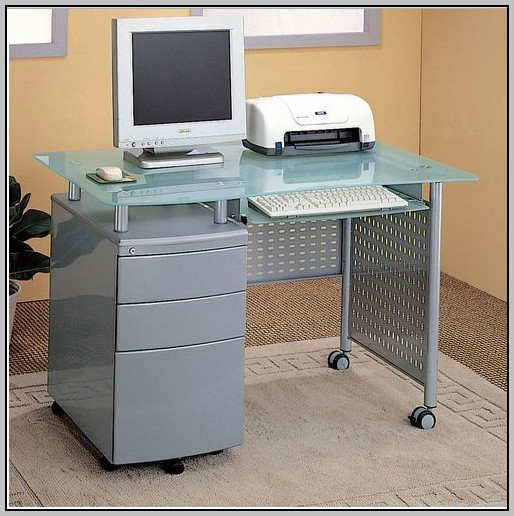 Computer Desk With Locking Drawers