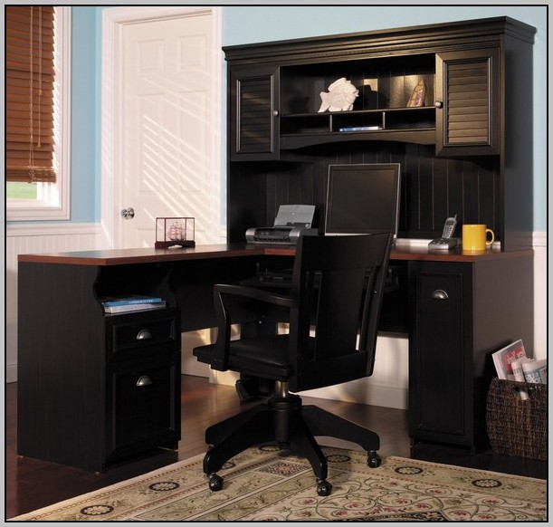 Corner Computer Cabinet Desk