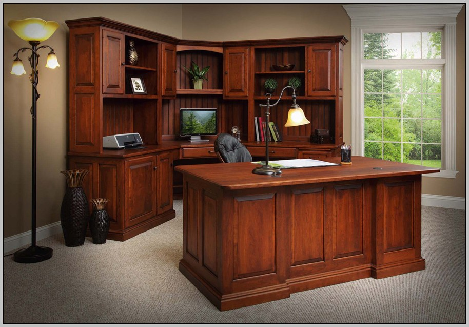 Corner Desk With Hutch For Home Office