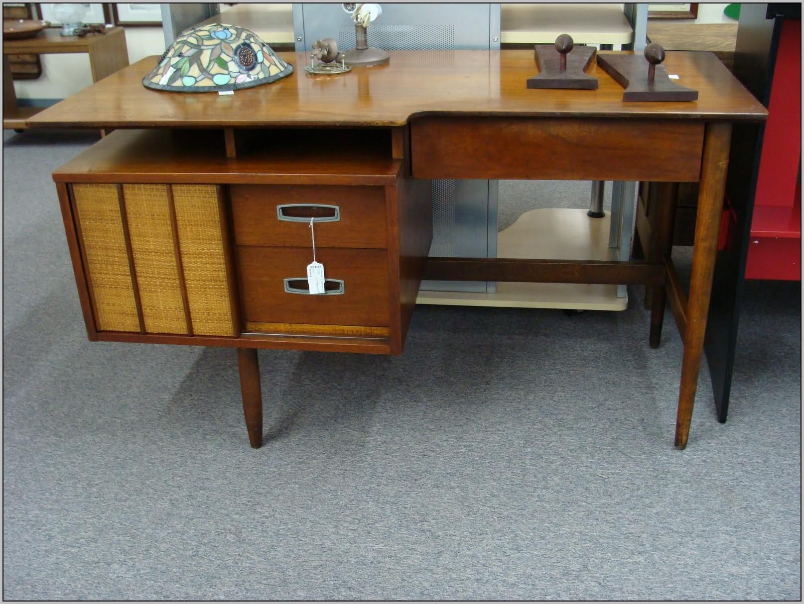 Danish Modern Desk In A Box