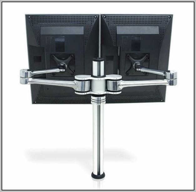 Desk Mount Monitor Pole