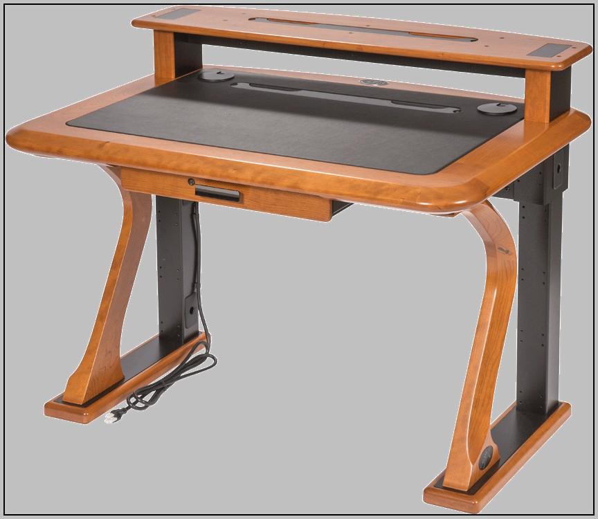 Desk Riser Shelf Wood