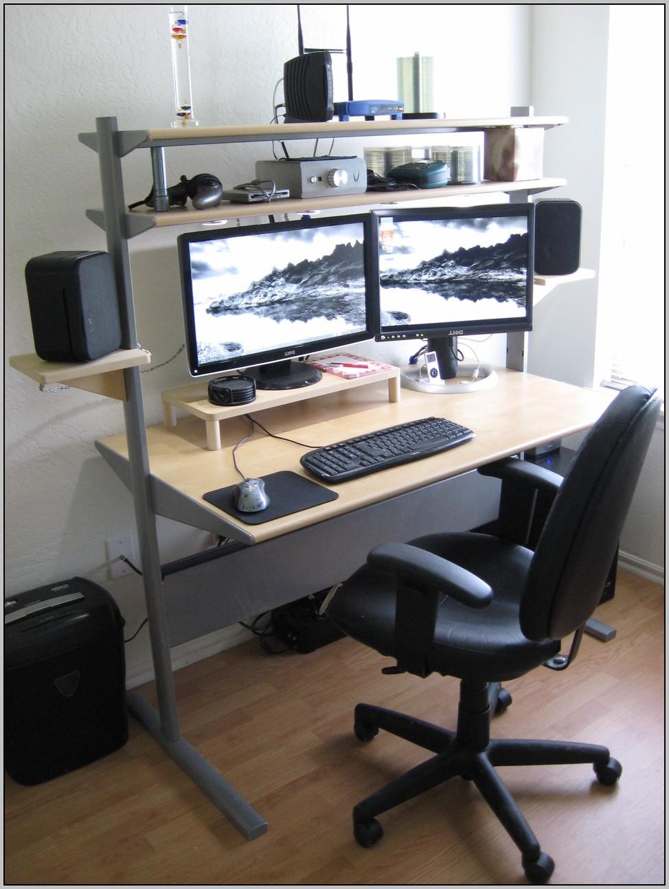 Desk Riser Shelves