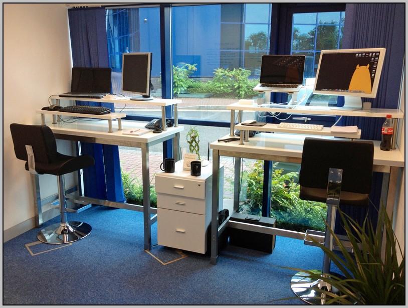 Diy Stand Up Desk At Work