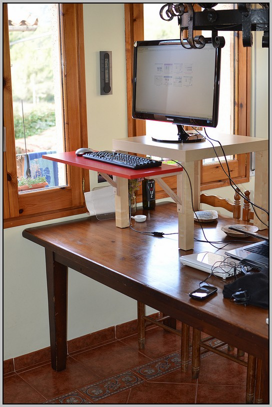 Diy Stand Up Desk Ikea