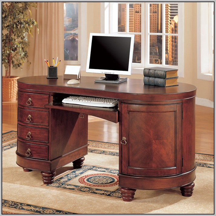 Double Computer Desk Workstation