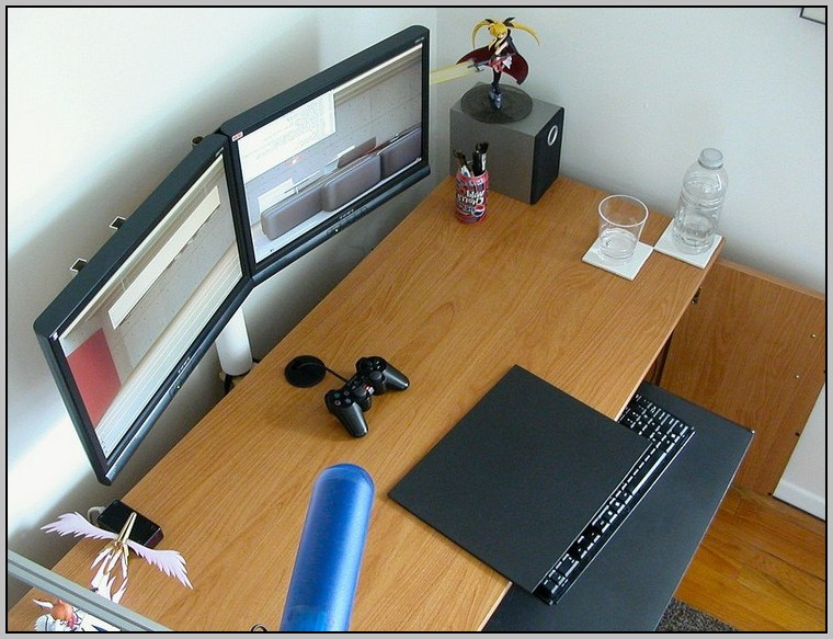 Dual Monitor Desk Mount Bracket
