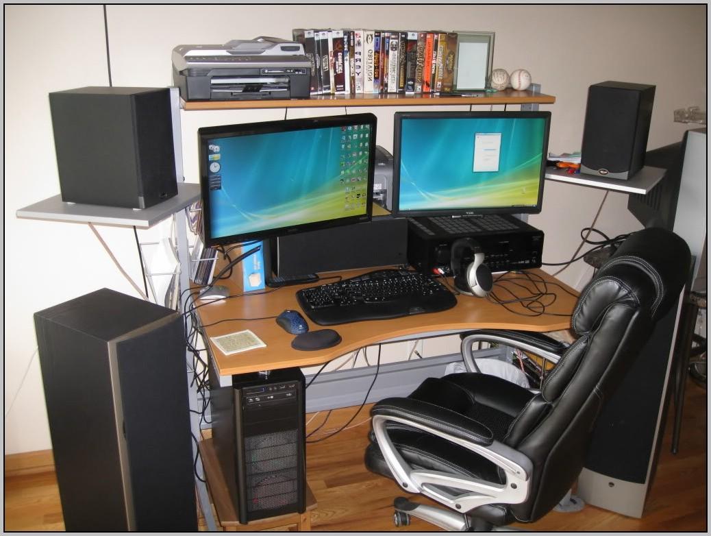 Dual Screen Desk Mount