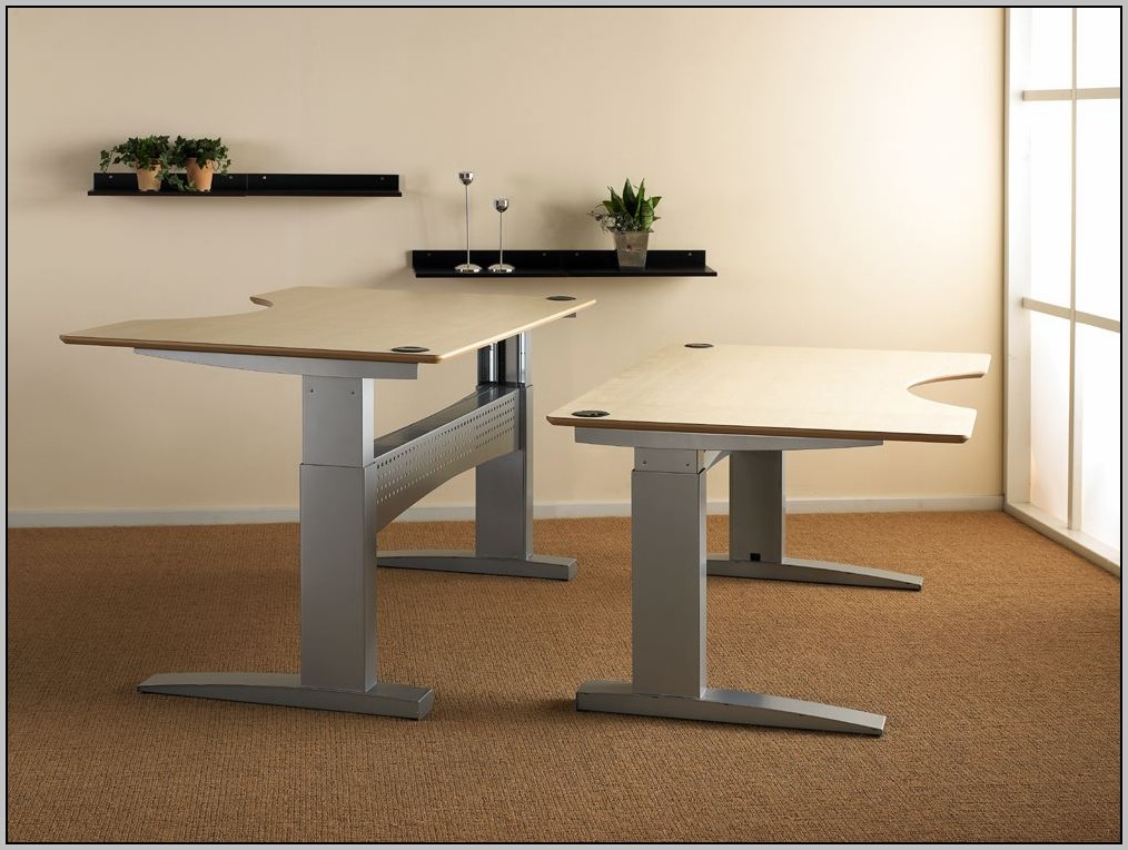 Electric Height Adjustable Desk Legs
