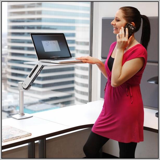 Ergotron Workfit Sit Stand Desk