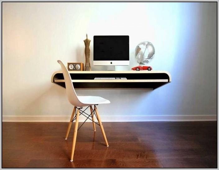 Floating Corner Computer Desk