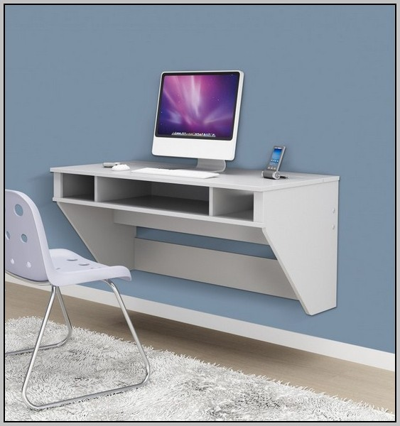 Floating Corner Desk Diy