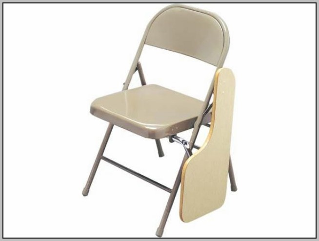 Folding Chair With Desk Arm