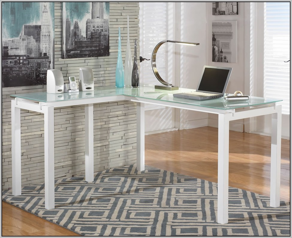 Frosted Glass Desk Top