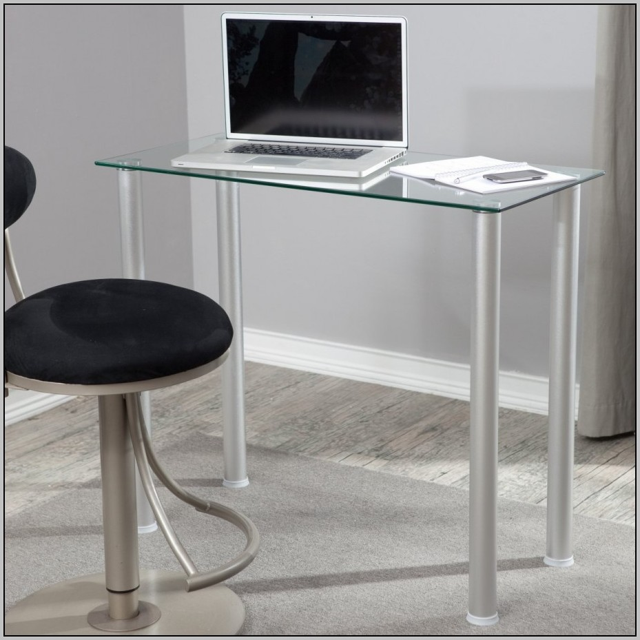 Glass Computer Desks For Small Spaces