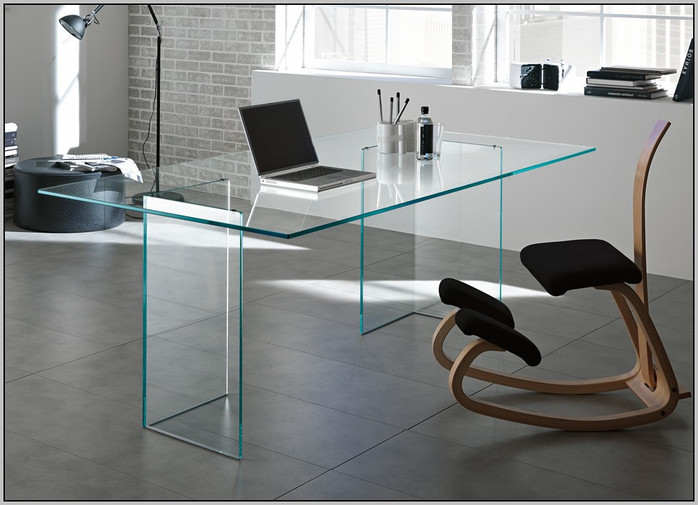 Glass Top Office Desk Ikea