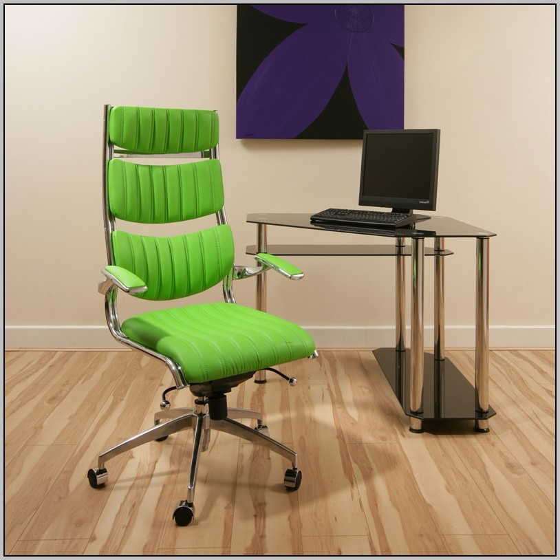 Green Desk Chair With Arms