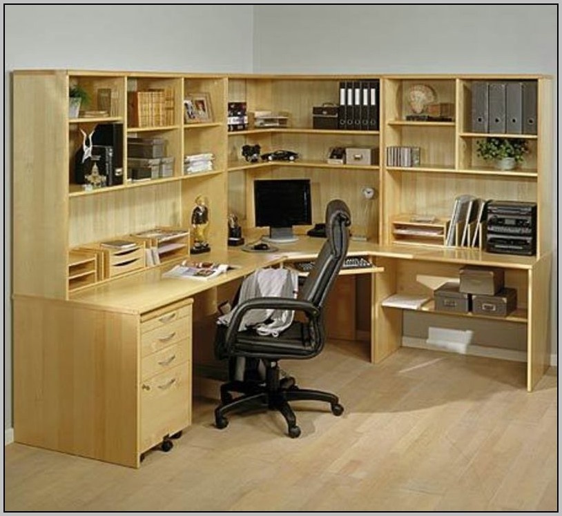 Home Office Corner Desk Units