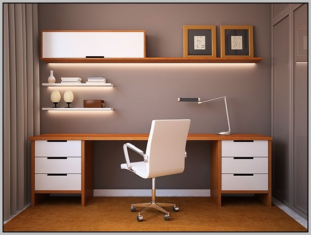 Home Office Desk Ideas Pinterest