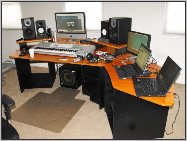 Home Recording Studio Desk Project