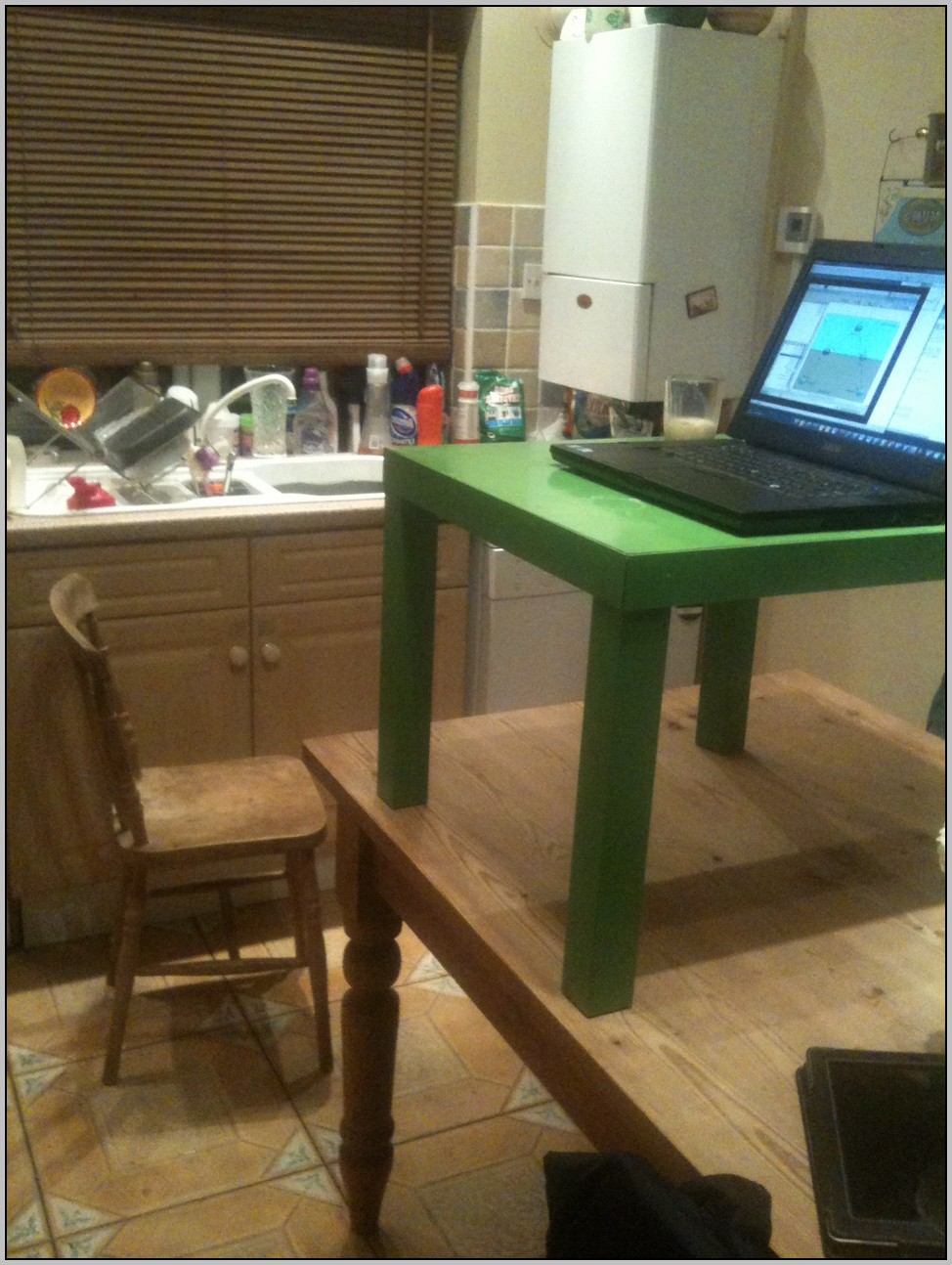 Homemade Stand Up Desk