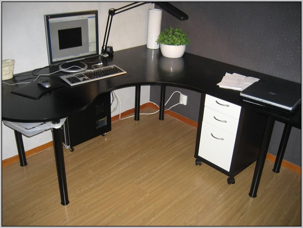 Ikea Black Desk Mikael
