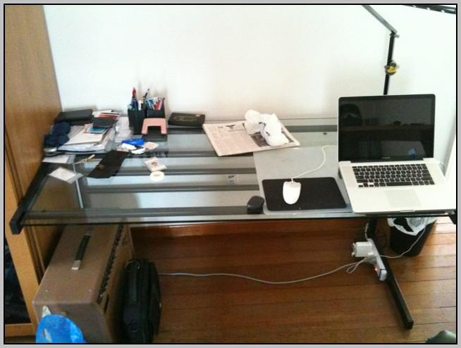 Ikea Glass Top Student Desk