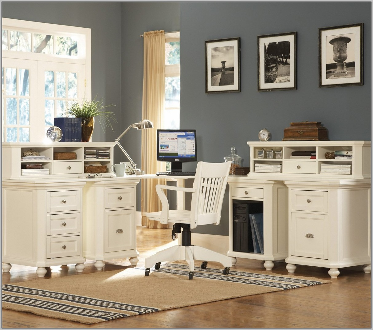 Ikea White Corner Desk With Hutch