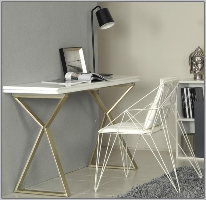 Ikea White Folding Desk Table