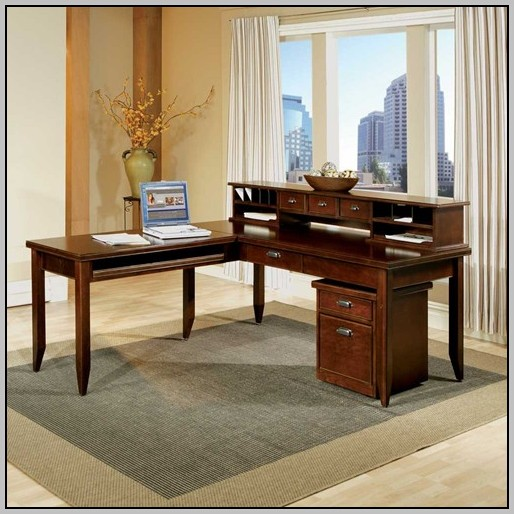 Kathy Ireland Desk And Hutch