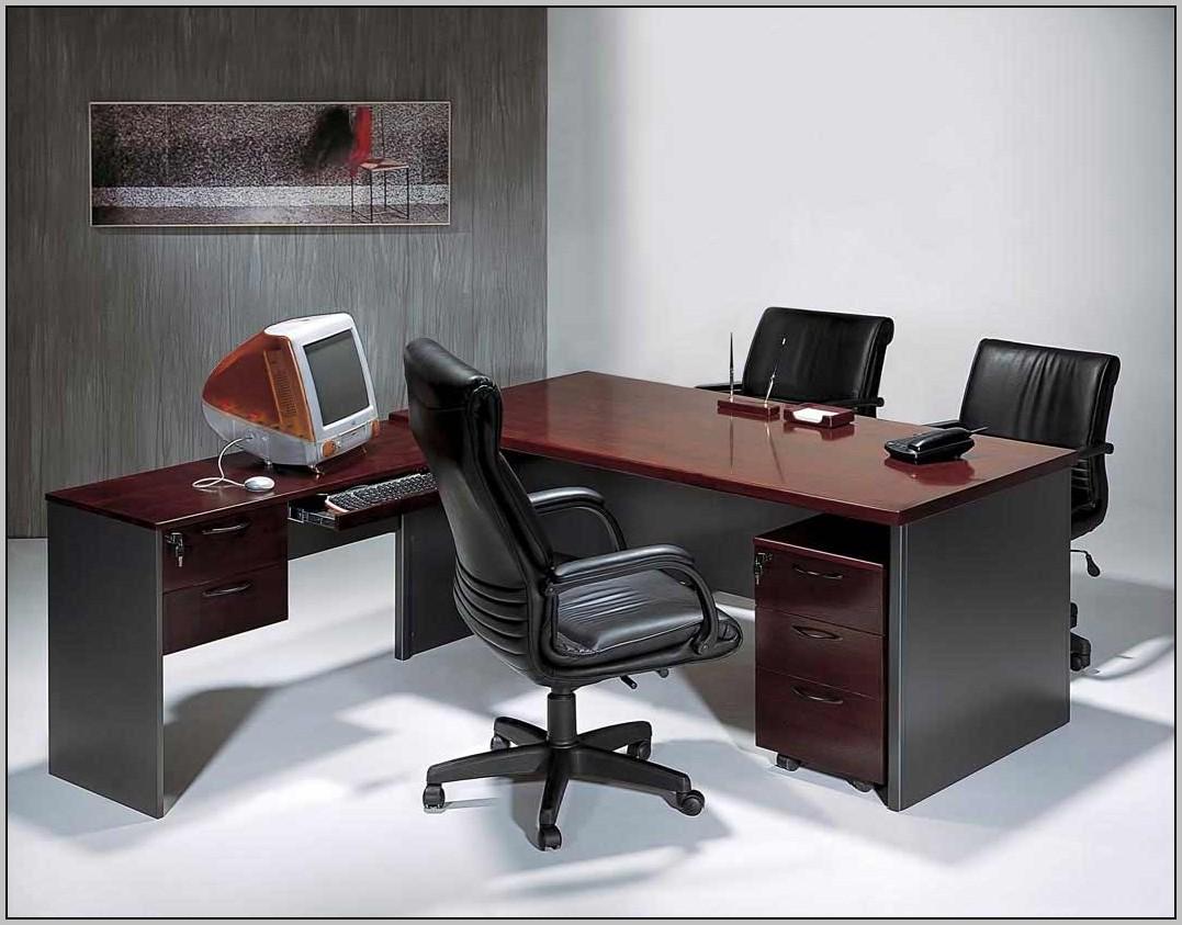 L Shaped Computer Desk Black