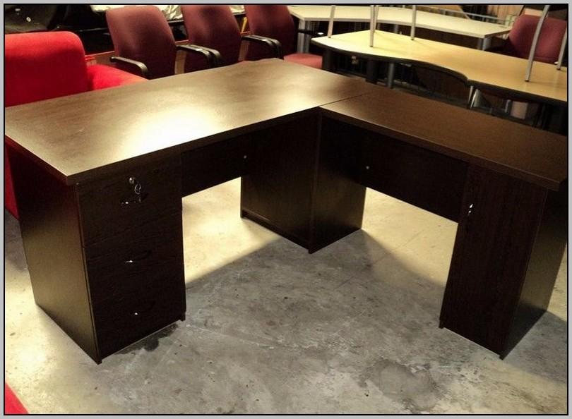 L Shaped Desks With Storage