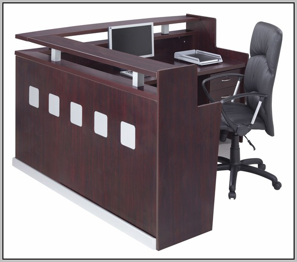 L Shaped Reception Desk Counter