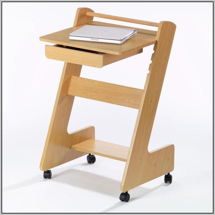 Laptop Computer Desk On Wheels