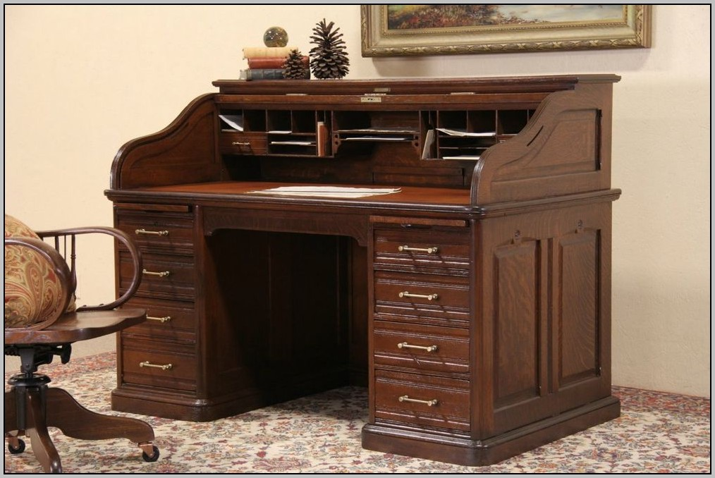 Leather Top Desk Ebay