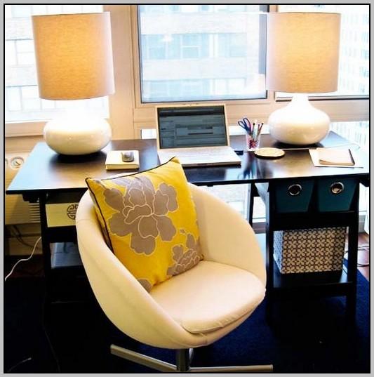 Light Yellow Desk Chair