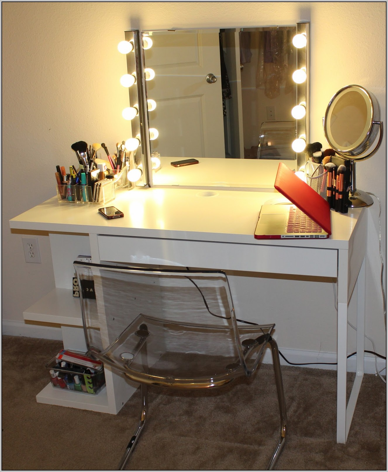 Lighted Vanity Makeup Desk Uk