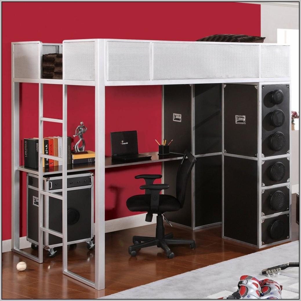 Loft Bunk Beds With Desk Ikea