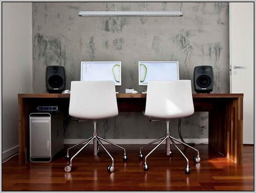 Make Two Person Computer Desk