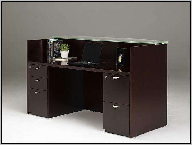 Marble Top Reception Desk