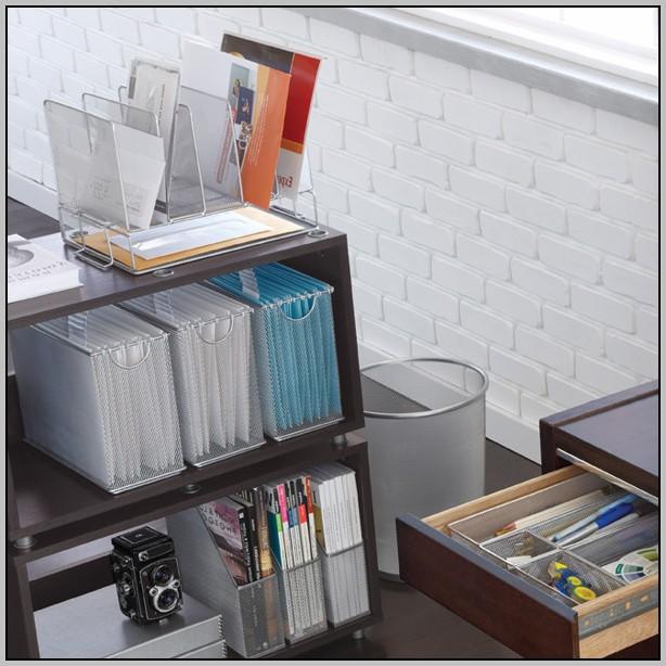 Mesh Desk Organizer All In One